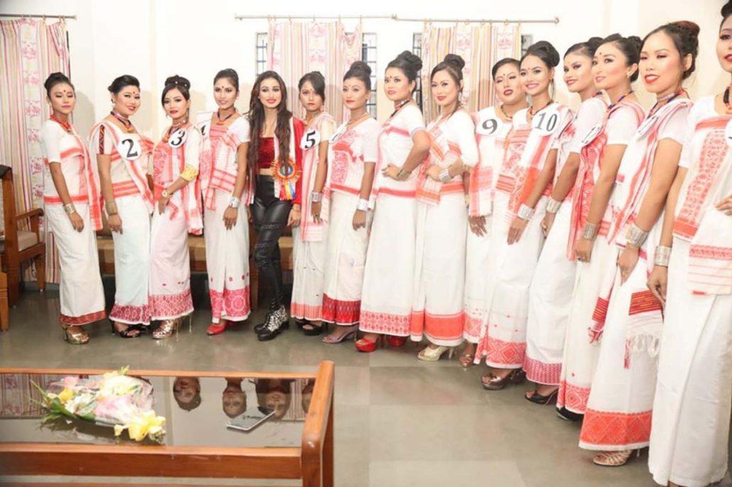 Assam: Moyuri Deori crowned Mega Miss Egaichi 2019 2