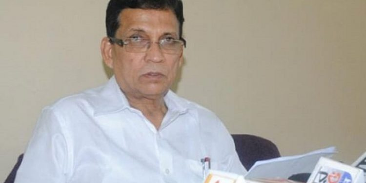 Former Tripura minister Badal Choudhury