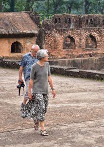 Assam: Sivasagar mesmerizes German couple on world tour 1