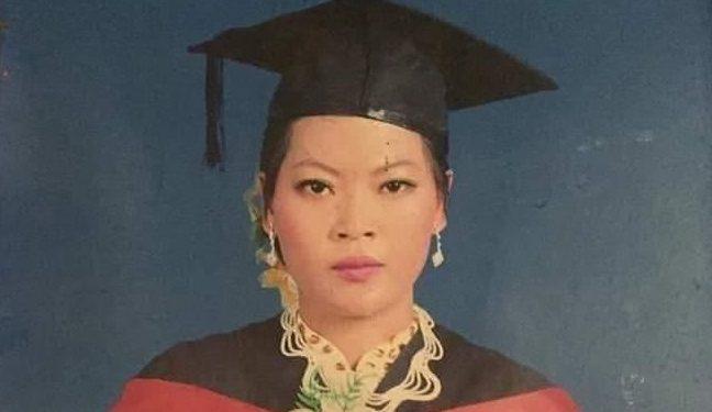 File image of slain Myanmar school teacher Dim Lun Mang