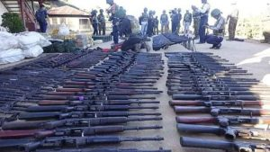 Huge cache of ULFA arms recovered in Bangladesh 2