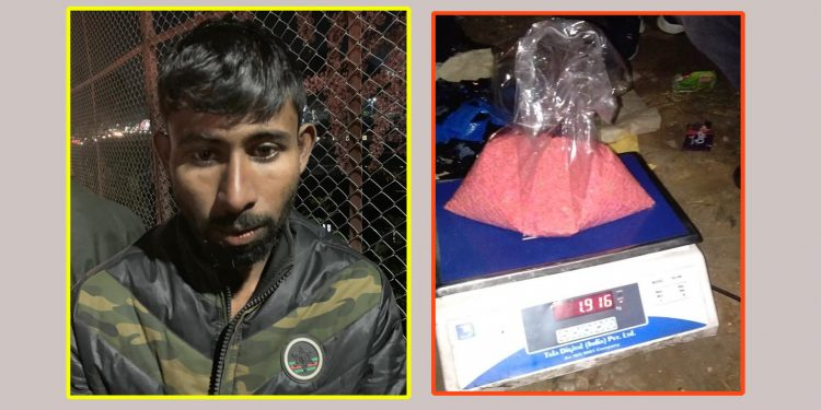 Seized yaba tablets in Shillong