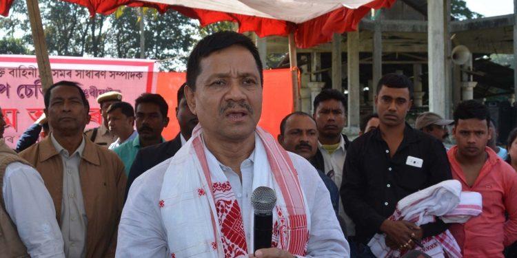 Pro-talk ULFA leader Anup Chetia (File image)