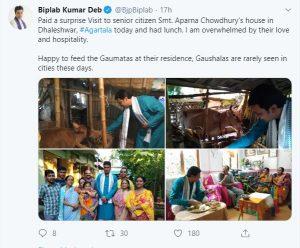 Come Sundays, Tripura CM to visit common man 2