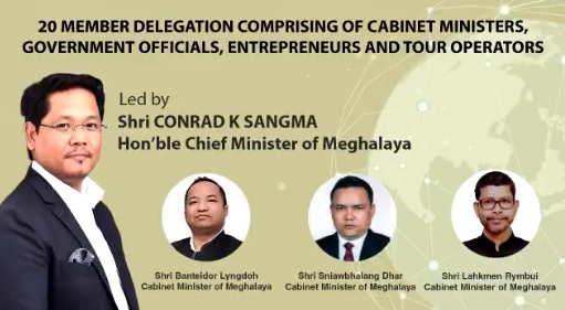 Meghalaya CM leaves for Bangladesh 1