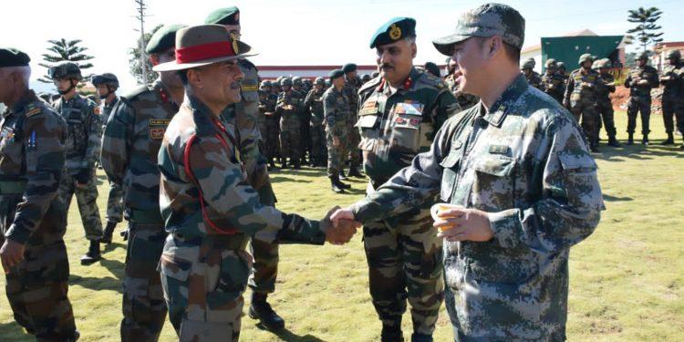 India-China joint exercise