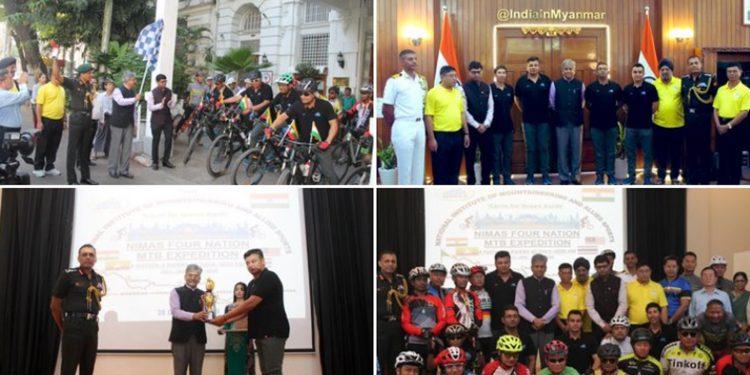 Cycling team from NIMAS