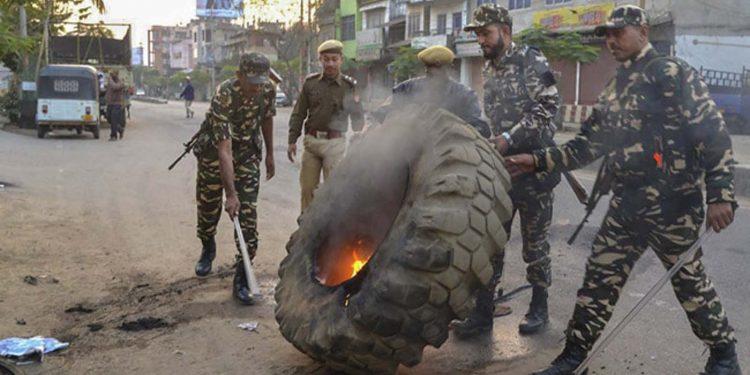 Army in Tripura, Assam