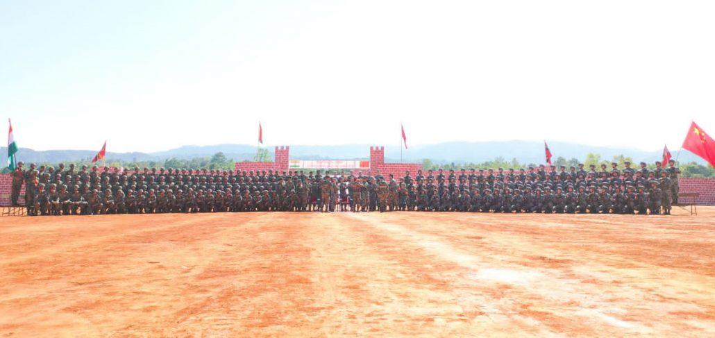 Meghalaya: India-China joint exercise begins at Umroi 3