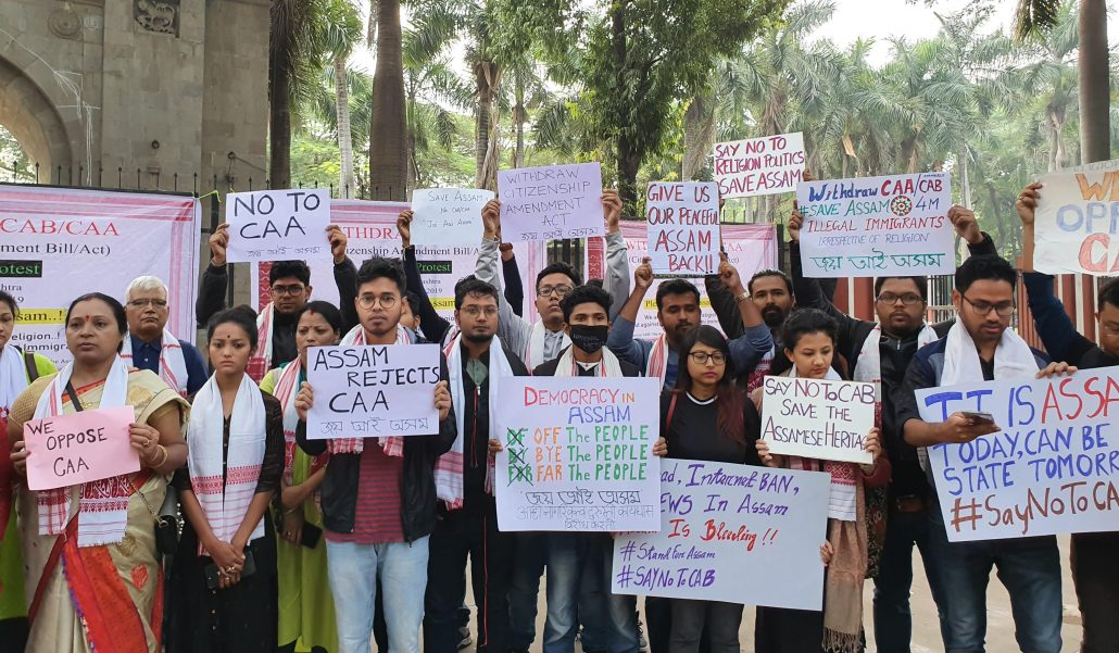 Assamese community stages anti-CAA protest in Pune 3