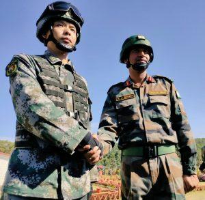 Meghalaya: India-China joint exercise begins at Umroi 4