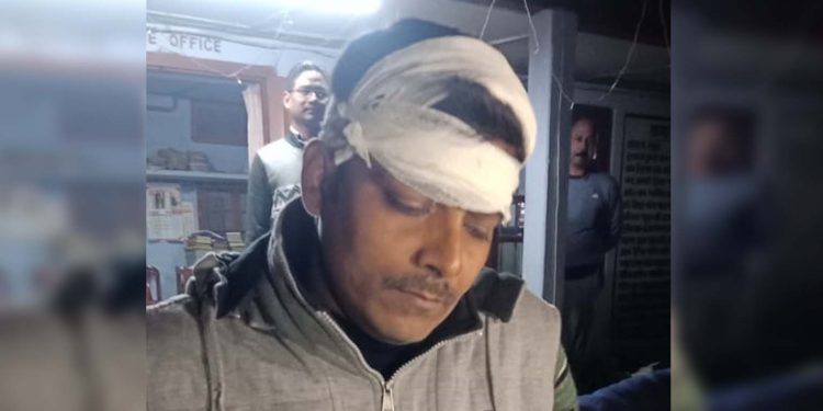 MLA's PSO attacked