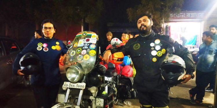 Pathsala biker couple