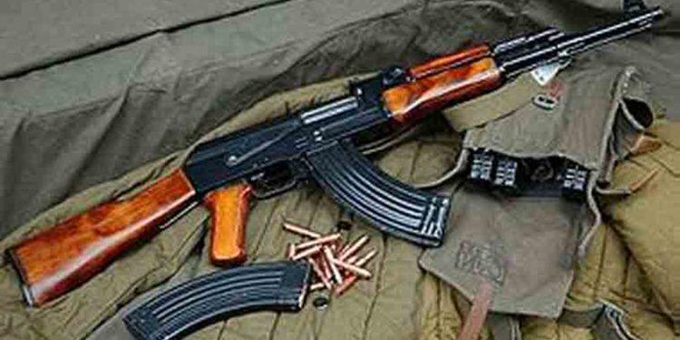 AK 56 rifle