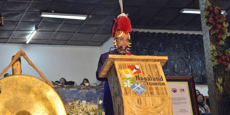 AR Rahman graces closing function of Hornbill Festival at Kisama on Tuesday