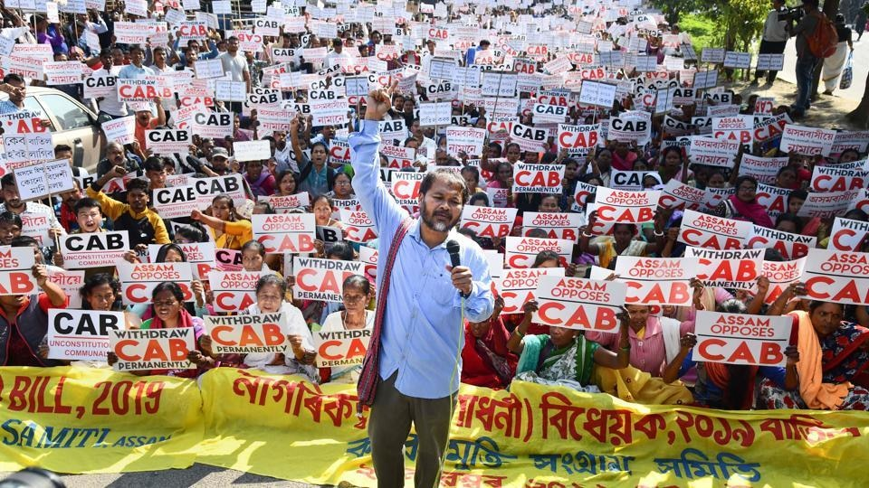 CAA protests: Akhil Gogoi linked to Maoist, claims NIA
