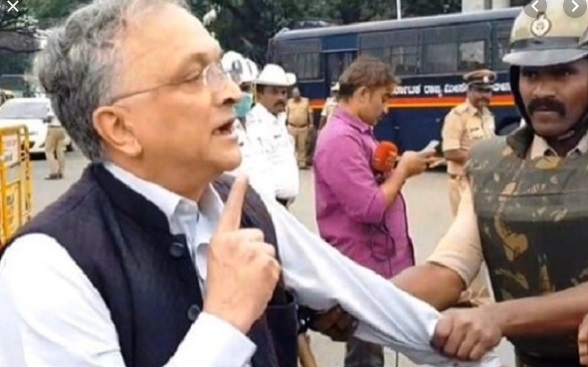 Guha was on Thursday detained by police in Bengaluru.