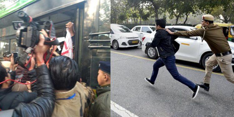Anti-CAA protest in Delhi