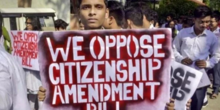 The protesters who gathered at Jantar Mantar in the national capital condemned the Central government for disregarding voices from the region.