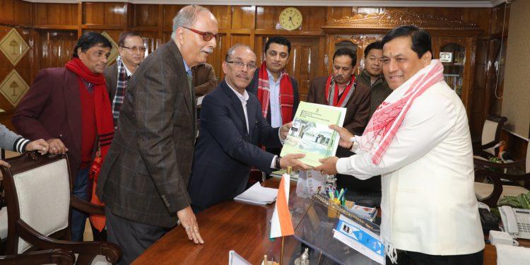 Report on Assam tea industry