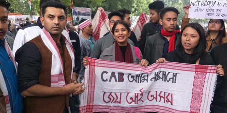 Assam: Anti-CAA protest continues in Delhi 1
