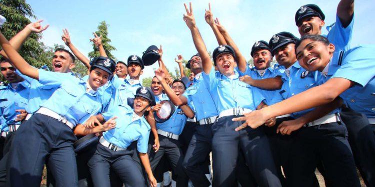IAF personnel
