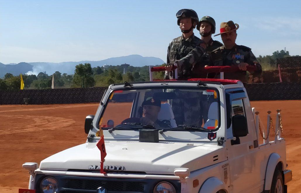 Meghalaya: India-China joint exercise begins at Umroi 1