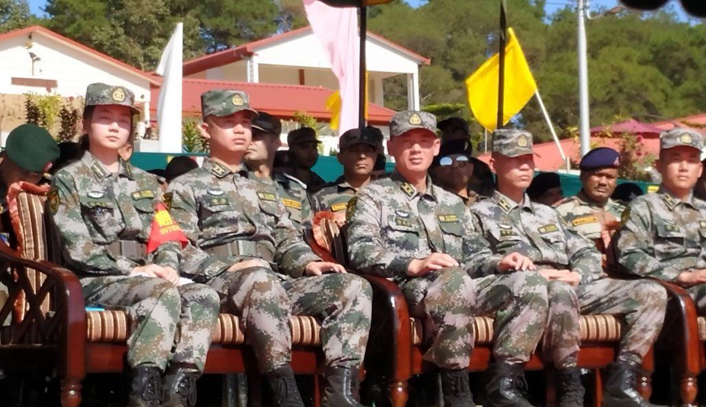 Meghalaya: India-China joint exercise begins at Umroi 2