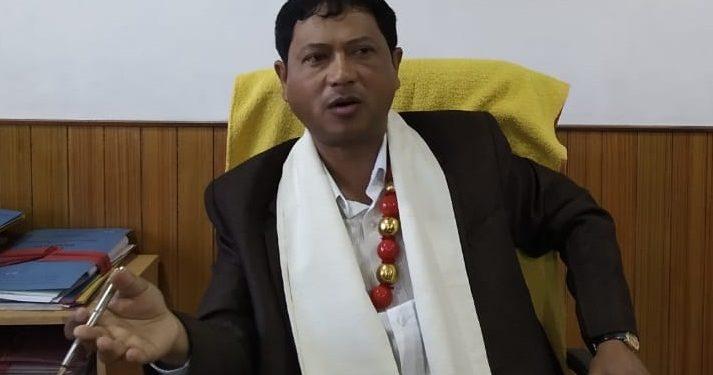 File image of Khasi Hills Autonomous District Council (KHADC) chief executive member, Latiplang Kharkongor