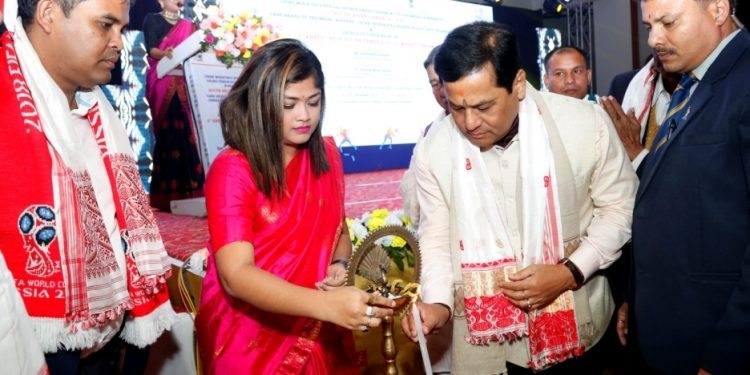 Assam CM Sarbananda Sonowal launched the Khelo India Youth Games torch relay at in Guwahati on Sunday.