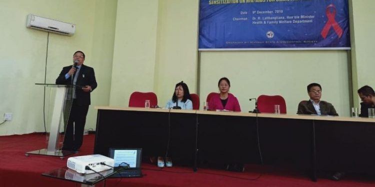 Mizoram health minister R Lalthangliana on Monday called upon youth leaders of various churches in the state to fight AIDS or HIV.