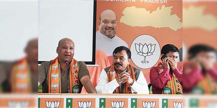 Meghalaya BJP leaders