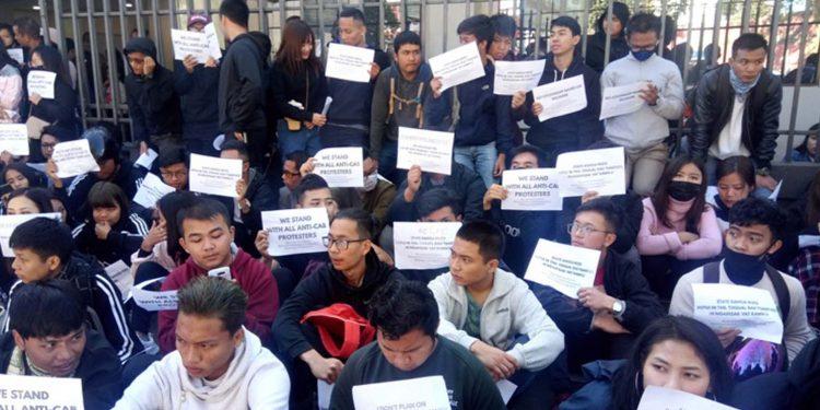 Mizoram protest