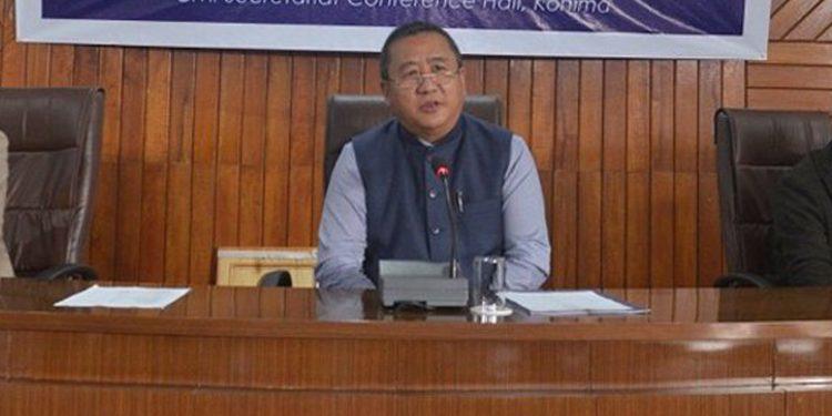 Nagaland chief secretary Temjen Toy
