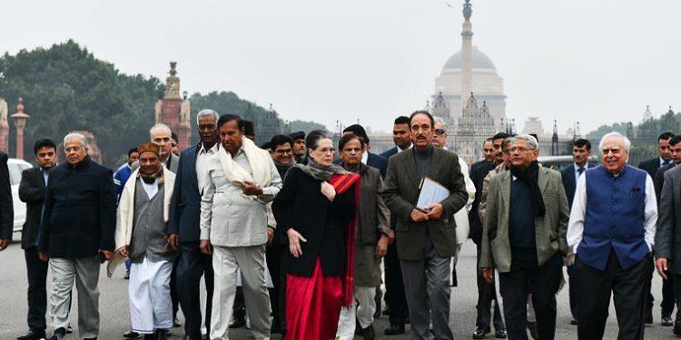 A delegation of opposition leaders met President Ram Nath Kovind on Tuesday.