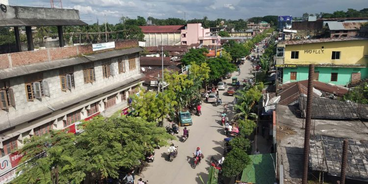 Pathsala town