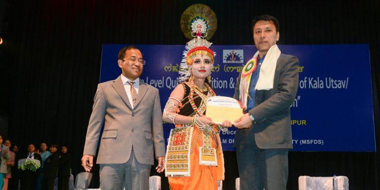 Manipur Kala Utsav winners feted 1