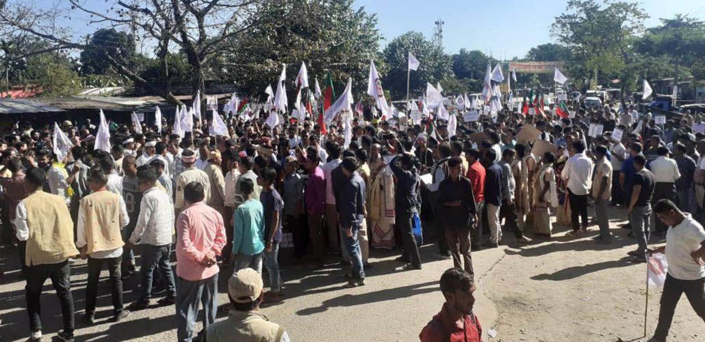 Anti-CAB movement intensified across Assam 1
