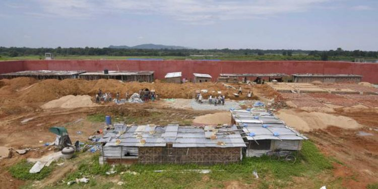 A detention camp in Assam. (File image)