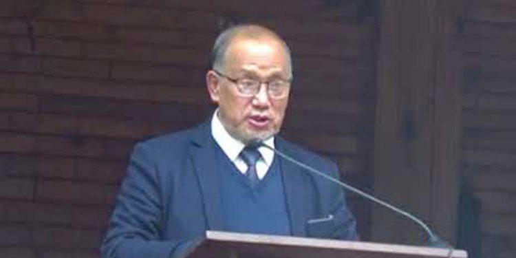 File image of Nagaland Speaker Vikho-o Yhoshu