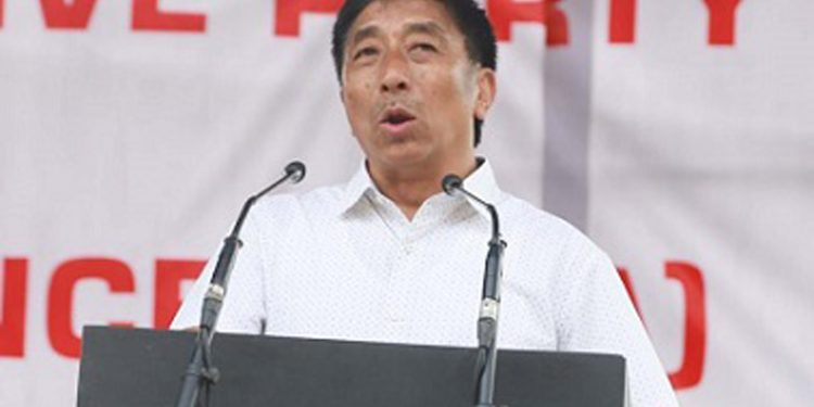 NDPP MP from Nagaland Tokheho Yepthomi (File image). Image: Northeast Now