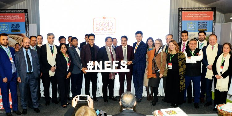 Dignitaries at the end of 1st North Est Food Show. Image: Northeast Now