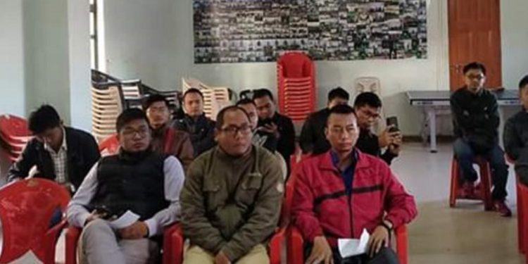 People attending MZP press meeting against CAB. Image: Northeast Now