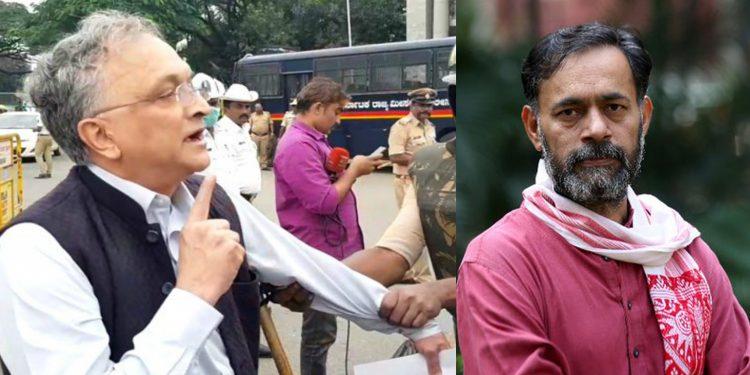 Ramchandra Guha, Yogendra Yadav detained by police