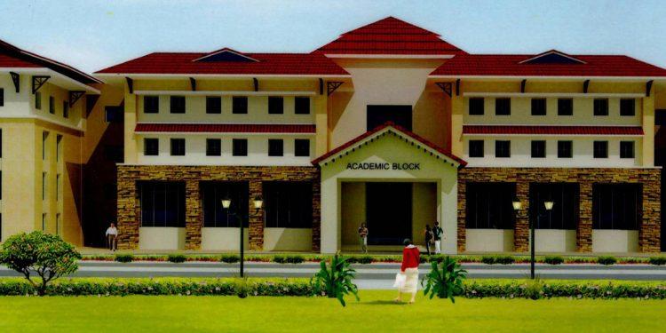 Drawing of NIT building. Image credit: NIT website