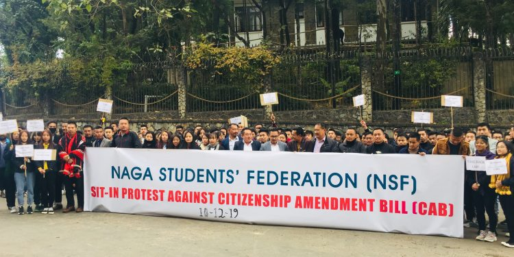 NSF members in Nagaland Governor house. Image: Northeast Now