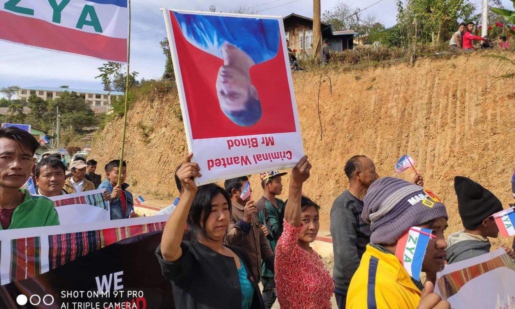 Fury in Chin state against Manipuri rebels over female teacher murder 1