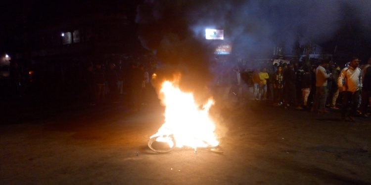 Anti-CAB protest in Dibrugarh