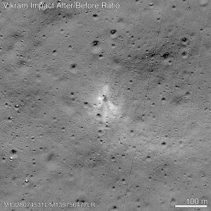 Amateur space enthusiast finds Vikram debris 4