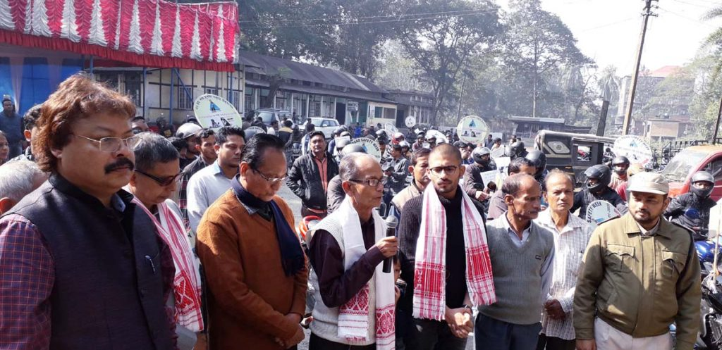 Assam: Women ride to alert bikers on safe driving at Mangaldai 1